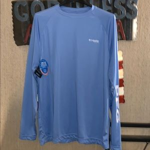 NWT Columbia PFG LS shirt